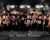 2017 Great Bridge Broncos