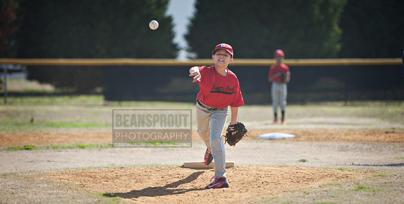 Bennett's Creek Little League Action Shots