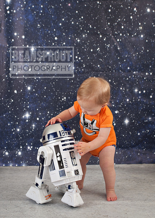 beansprout photography star wars toddler