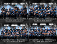 2017 Portsmouth Panthers Team Photos