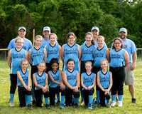 Softball Major Blue Jays