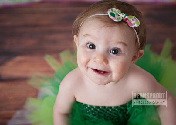 Miss E is 9 Months!  Suffolk VA Child Photographer