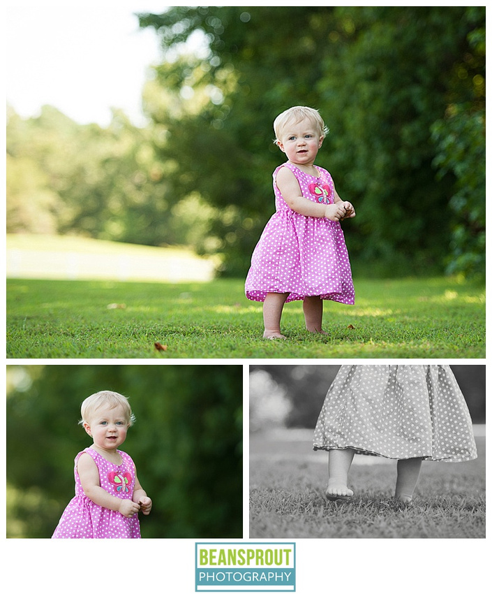 Miss C - One Year Cake Smash Session | Suffolk, Virginia Child Photographer