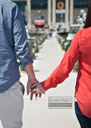 Old Town Alexandria Engagement Photos | Jamie + Paul